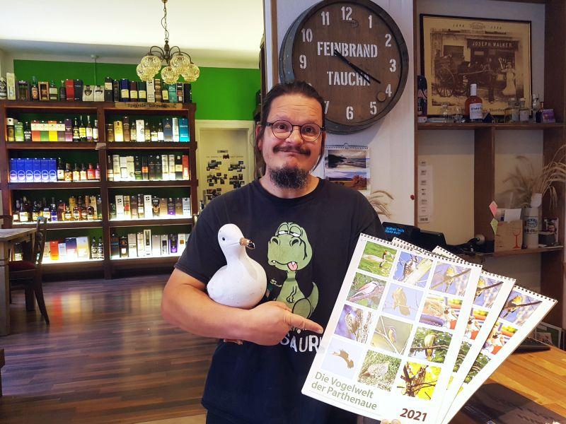 Nico Kermes mit Kalender